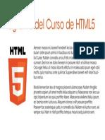 Programa Html5