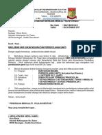 Surat Maklum Hari Sukan Negara Dan Sekolah Ganti