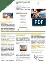Tríptico Diálisis Peritoneal