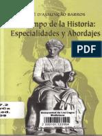 Dassuncao Barros, José - El Campo de la Historia Especialidades y Abordajes.pdf