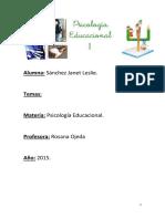 2º Trabajo de Psicologia Educacional.