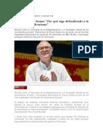 Boaventura de Souza Por Qué Sigo Defendiendo a La Revolución Bolivariana