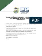 Tjpe - 20 Dicas Soobre o Código de Organização - Material Exclusivo e Autoral