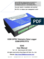 s240 Gprs Rtu User Manual Ver1.1