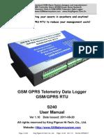s240 Gprs Rtu User Manual Ver1.1