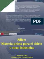 Sílice Materia Prima Para La Industria Del Vidrio