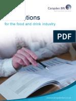 Campden Bri Food Drink Publications Catalog