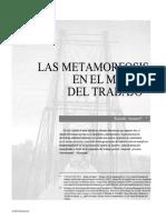 ANTUNES, R. - Las Metamorfosis Del Mundo Del Trabajo1