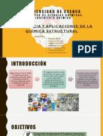Importancia y Aplicaciones de La Quimica Estructural