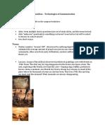 Ideas Exam 1 Study Guide