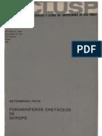 Foraminíferos Cretáceos de Sergipe