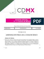 Ley Electoral CD Mx
