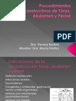 Procedimientos Reconstructivos de Tórax_ Abdomen y Periné