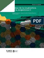 Rutas de la lingüística en la Argentina II