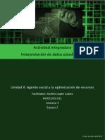 Actividad Integradora 5 Interpretación Estadística M20S3
