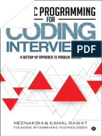 Dynamic Programming Coding Interviews