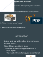 thermal energy master ppt
