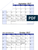 grade 2 module 3 instructional calendar