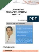 1. Dr Dr Sutoto Mkes - Tip Dan Strategi Snars Ed 1