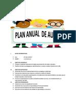 Plan Anual de Aula