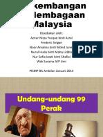 Minggu 2 UU 99 Perak, Hukum Kanun Pahang, UU Kedah
