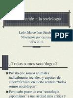 1 Sociologia y Cambios en La Sociedad