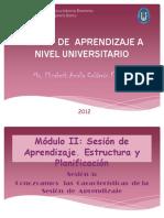 Sesion de Aprendizaje a Nivel Universitario- 36 Dp Apoyo
