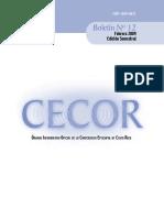 Boletin - CECOR