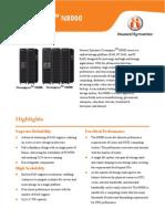 Oceanspace N8000 Data Sheet