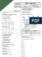 Química - Pré-Vestibular Impacto - Ácidos - Formulação