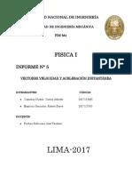 Informe 5 Fisica General Fallido