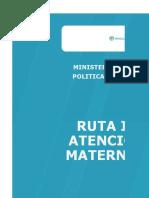 3.2 Matriz Rias Materno - Perinatal