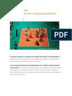 Normativa del Voleibol Sentado