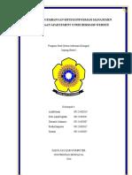 Contoh Wbs Proyek Sistem Informasi