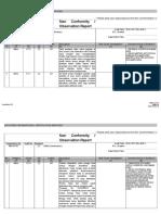 3-08r4 Non Conformity Report MEDAN SUGAR in StageII