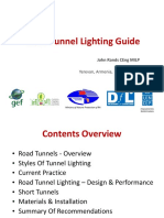Road Tunnel Lighting Guide