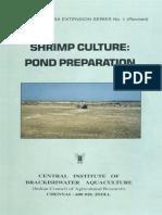 01 SC - Pond Preparation