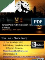SharePointScarePoint_Friday Admin Stuff
