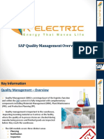 SAP QM Overview