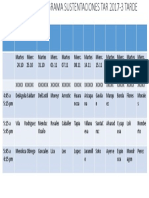 Sem 6 Cronograma Sustentaciones 2017-3 Tarde-1-1