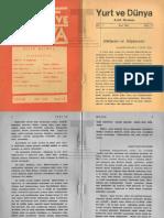 Yurt ve Dünya 1941