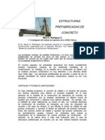 Estructuras Pre Fabricadas de Concreto