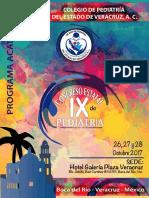 PROGRAMA ACADÉMICO IX CONGRESO DE PEDIATRIA 2017