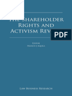 TLR Shareholder Rights and Activism
