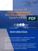 Process of Organization Development and Intervention