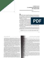 Lectura 1. La Institucionalizacion Del Desarrollo