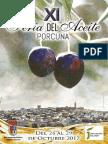 Libreto XI Feria Del Aceite Ciudad de Porcuna