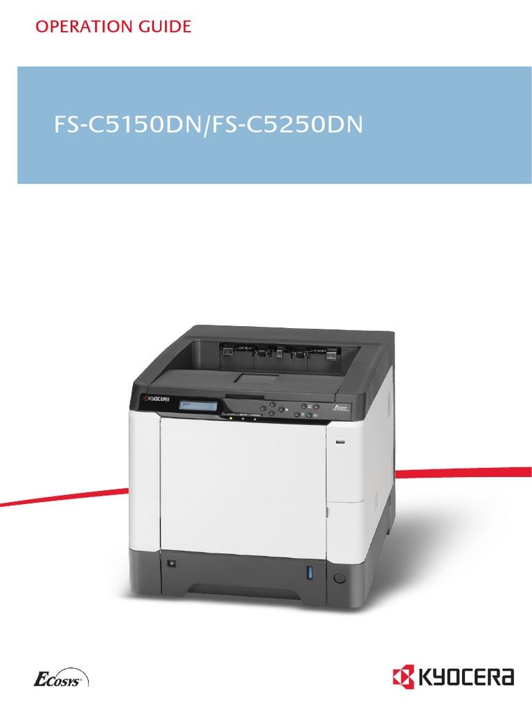 kyocera km 4800w multi function printer service repair manual parts list