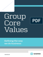 Maersk Group Core Values