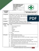 SOP Prosedur Pemberian Obat Melalui Wadah Cairan IV - Copy - Copy